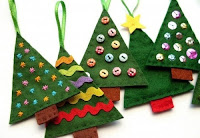David Deusner DIY Fabric Christmas Trees