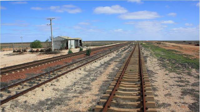 Maior reta em uma ferrovia do mundo