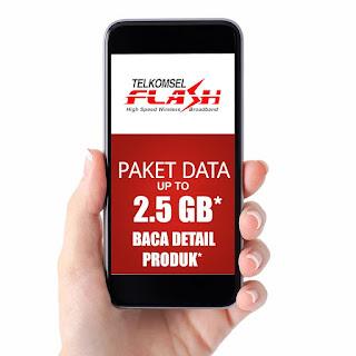Paket Satelite Telkomsel Terjangkau 2.5 GB 35 Ribu