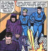 Fantastic Four 43 Frightful Four
