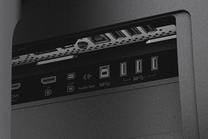 Dell UP3216Q ports