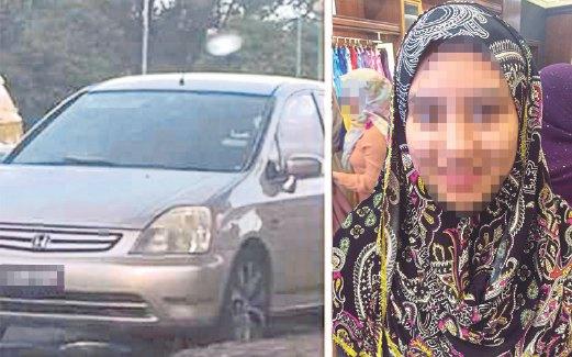 Ibu Pecut Kereta Kejar MPV Yang Larikan Anak Gadis