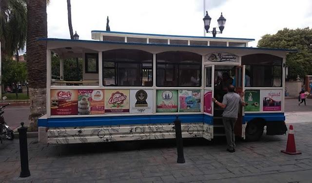 Gauyequito, tranvía Turístico Calvillo