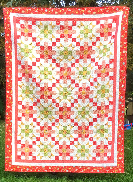 The Chandelier Quilt Free Pattern Designed By Jessica Dayon