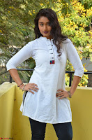 Kiran Chetwani in Denim and White Kurti  Exclusive 032.JPG