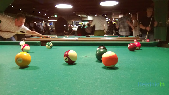 billiard at Corona Bar