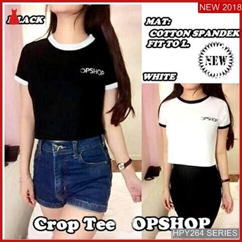HPY264C134 Crop Tee Anak Top Murah BMGShop