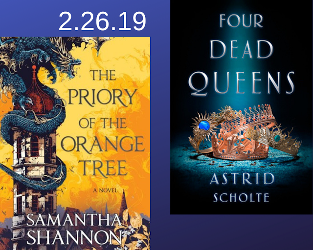 The Priory of the Orange Tree, Four Dead Queens, Astrid Scholte, Samantha Shannon