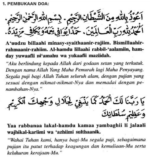 pembukaan doa