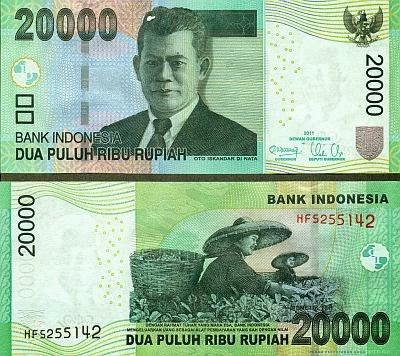 Uang Lama 20.000