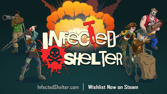Dark Blue Games anuncia Infected Shelter | Shotter com RPG e Ação