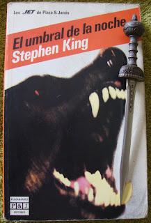 Portada del libro El umbral de la noche, de Stephen King