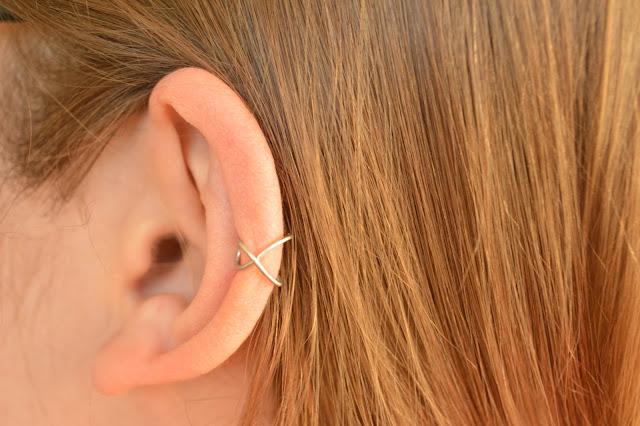 Cómo hacer 6 pendientes sollitarios o ear cuff muy fáciles