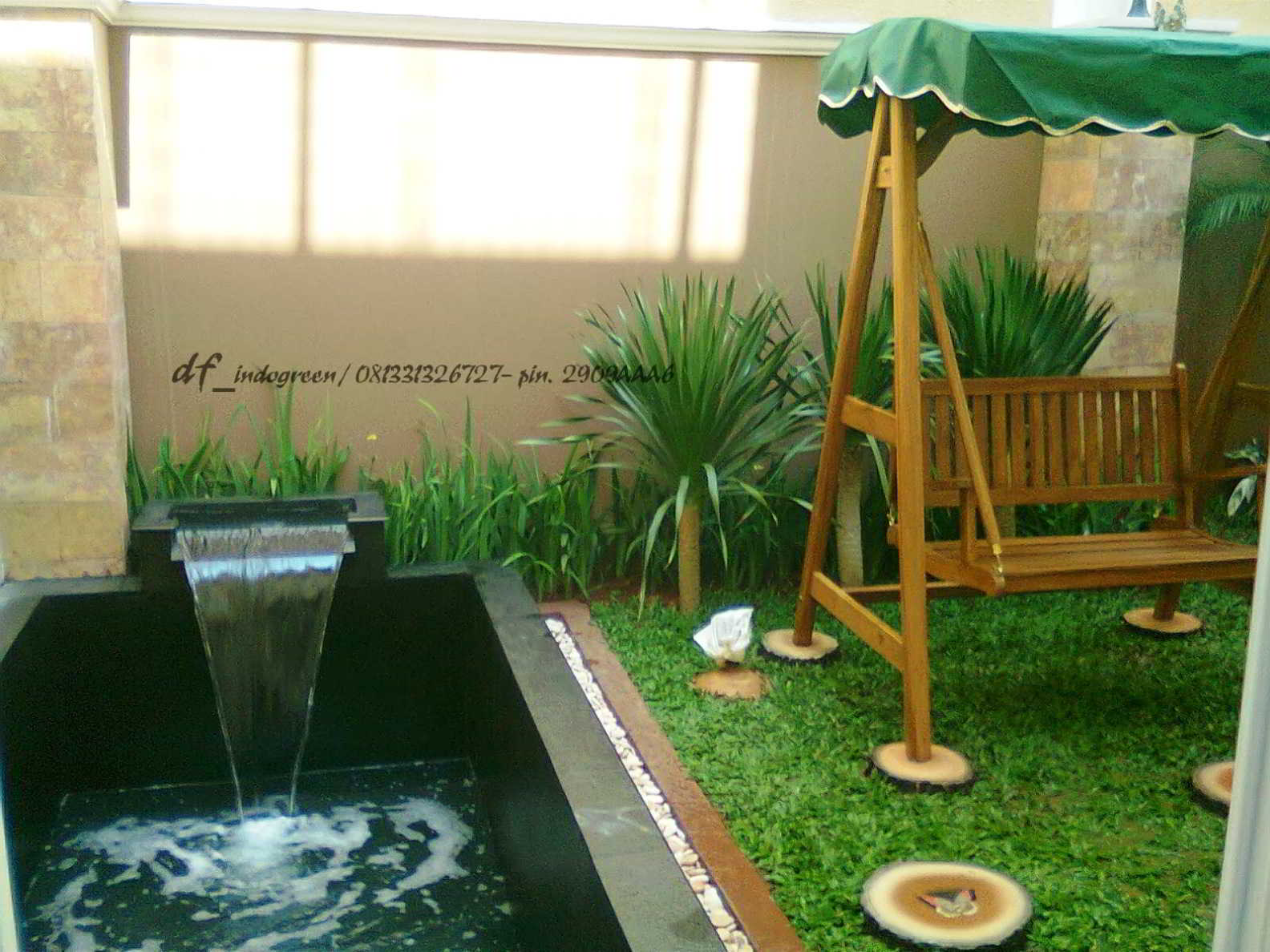 Taman Minimalis Di Halaman Belakang Rumah Destaman