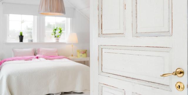 Scandinavian Bedroom in a Summer House