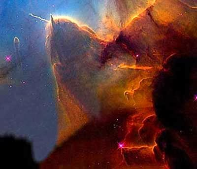 The Trifid Nebula. A stellar nursery