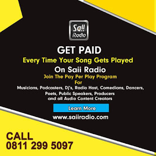 Get Paid Every time Your Song Gets Played On Sai Radio