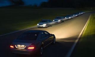 السياقة بالليل