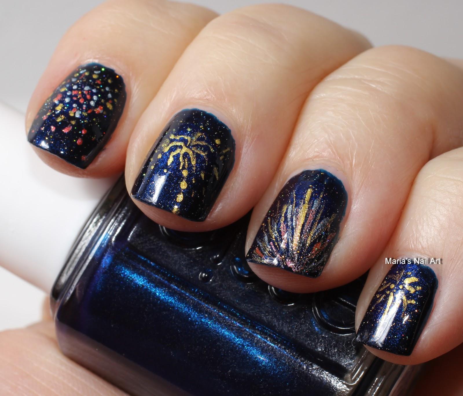 Nail Art New Year Nail Art