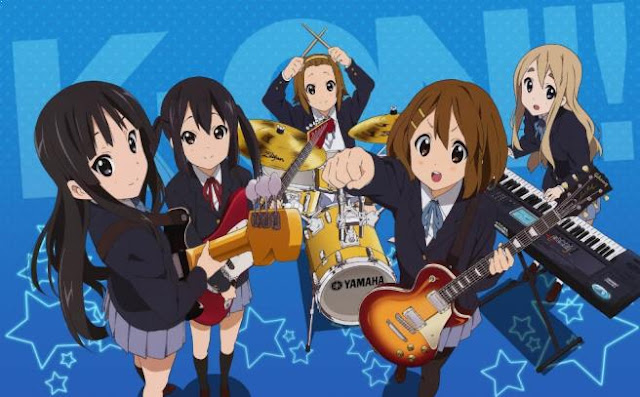 Top Best School Comedy Anime List - K-On