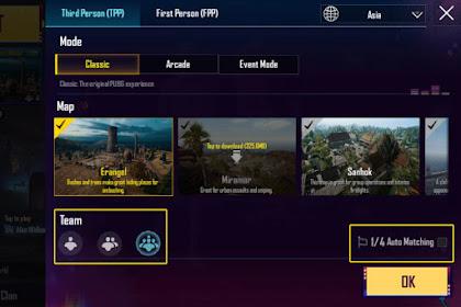 Tips dan Cara Bermain Solo vs Squad PUBG Mobile