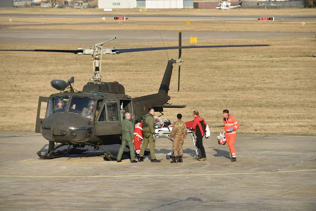 aves esercito italiano volo sanitario