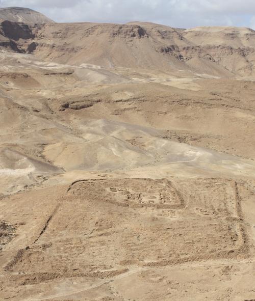 masada roman army ramp