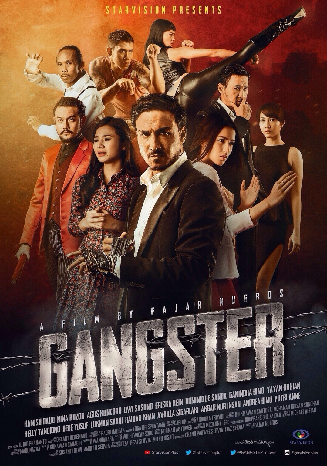 Download Film Gangster (2015) DVDRip Full Movie Gratis