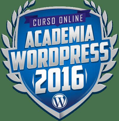 Curso: Academia WordPress 2016