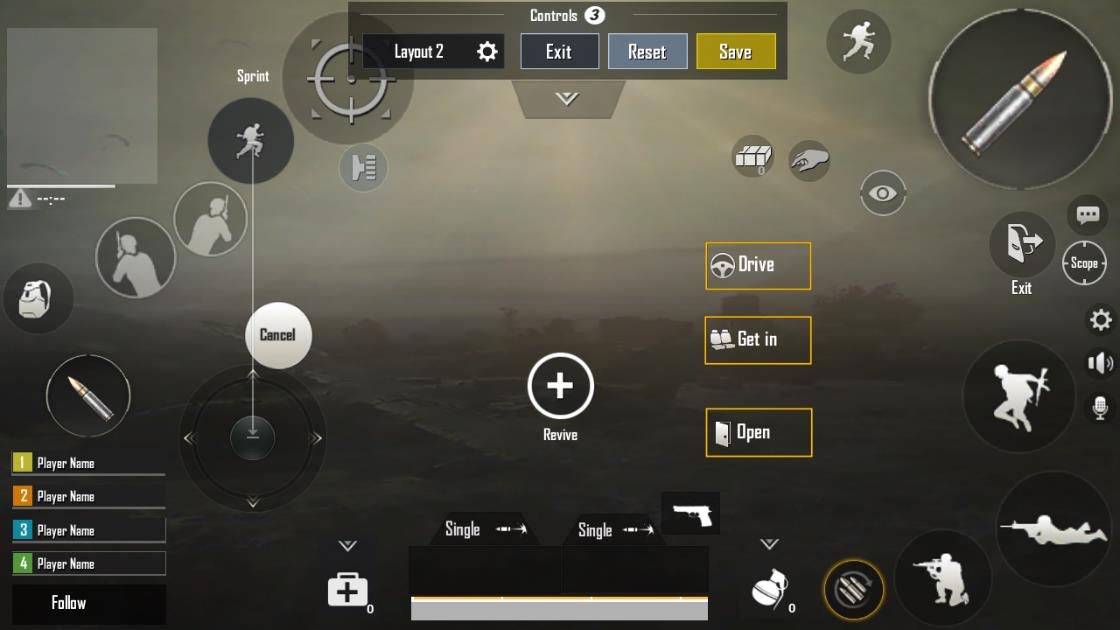 Claw Layout Setup For Pubg Mobile