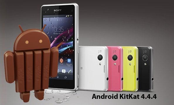 Update Android 4.4.4 KitKat Mulai hadir untuk Sony Xperia Z1 Compact