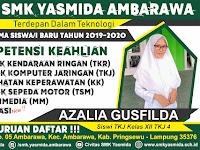 Desain Kartu Ucapan PPDB SMK Yasmida Ambarawa
