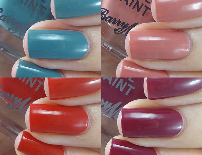 Barry M Gelly Autumn Winter 2018
