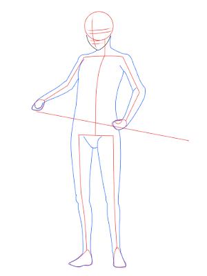 cara menggambar Sasuke Hebi tahap 7