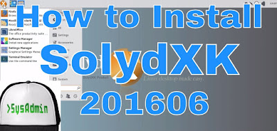 SolydXK Linux 201606
