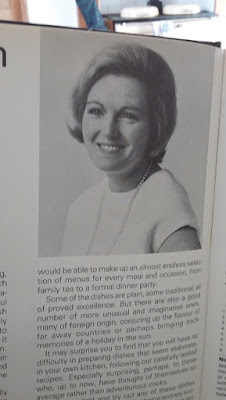 Picture of a young Mary Berry from the Hamlyn All Colour Cook Book, which used for a recipe for New Zealand Anzac biscuits