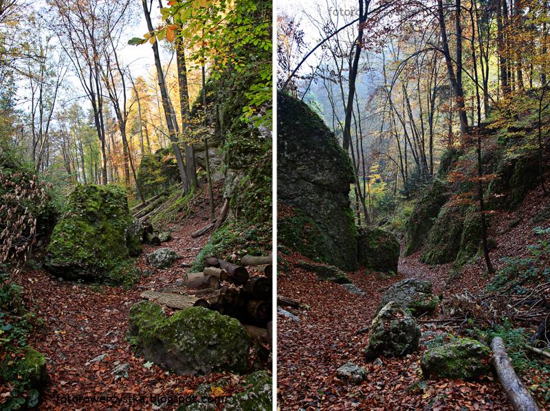Ojców, Ojcowski Park Narodowy, małopolskie, Dolina Prądnika, Wąwóz Ciasne Skałki