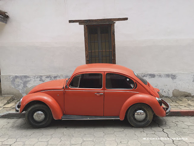Old Beatle in San Cristobal de las Casas, Mexico