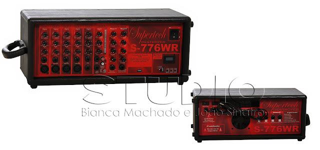 fotografia de produtos para equipamentos de som