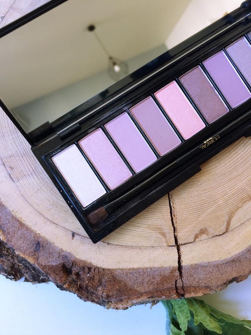 L'oréal La palette Nude teinte rosé
