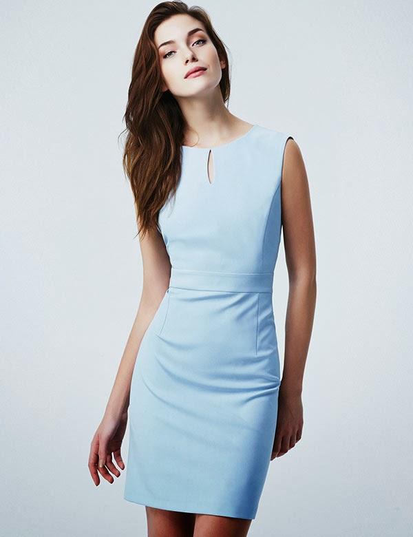 f93102009fd8a Genel hatlarıyla kısa etekli elbiselerden oluşan Fusion 2014 elbise  modellerini aşağıda beğenilerinize sunuyoruz.