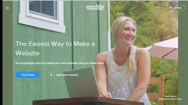 4 platforms to start your blog Weebly