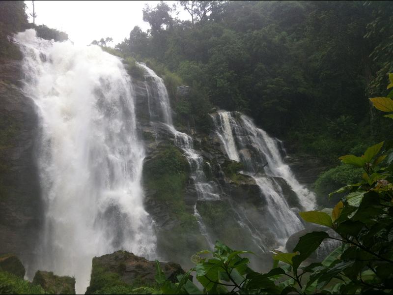 Chiang Mai Waterfall Doi Inthanon Wachirathan