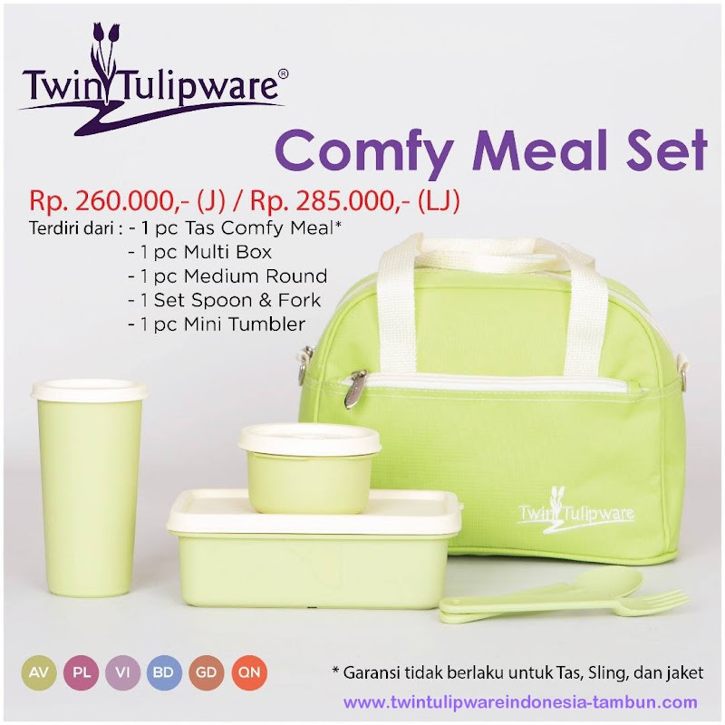 Comfy Meal Set - Katalog 2017 Twin Tulipware