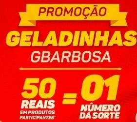 Cadastrar Promoção Geladinhas GBarbosa - Concorra 8 Cervejeiras e 4.800 Puro Malte