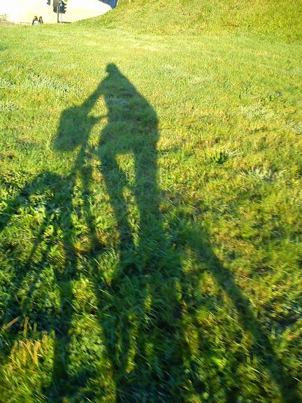 jesień na rowerze, jesienią na rowerze, rowerem jesienią, jesień, Edynburg, Szkocja