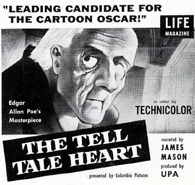 The Tell Tale Heart (1953) cartoon