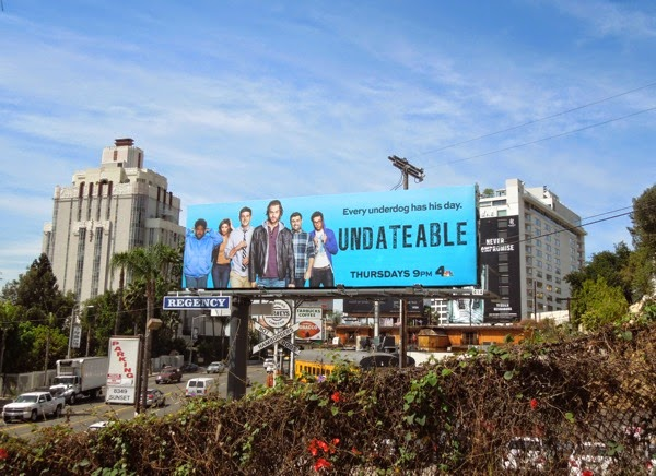Undateable series premiere billboard