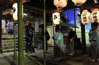 Hachinohe Sansha Taisai Shinmei Shrine Kagura Dance 八戸三社大祭 神明宮 神楽