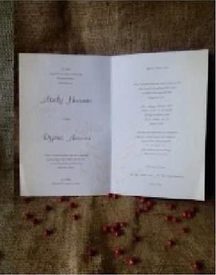 Detail/Spesifikasi Kartu Undangan pernikahan Kode 88116 murah 2016
